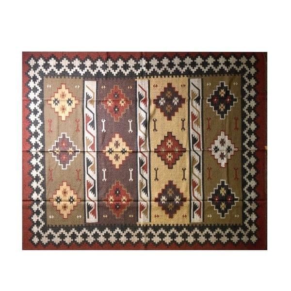 Ručně tkaný koberec Rajastan, 320x260 cm