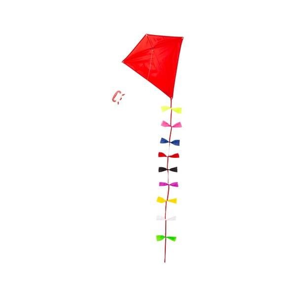 Czerwony latawiec papierowy Kikkerland Huckleberry