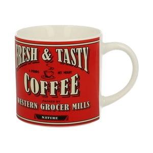 Červený porcelánový hrnek Duo Gift Coffee, 430 ml