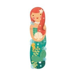 Dětský nástěnný metr Petit collage Miss Mermaid
