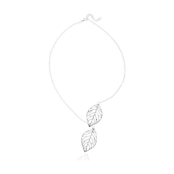 Dámsky náhrdelník v striebornej farbe NOMA Caroline