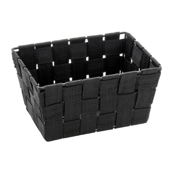 Coș pentru depozitare Wenko Adria, 14 x 19 cm, negru