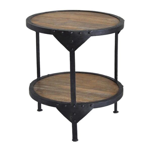 Odkládací stolek z mangového dřeva RGE Bombay