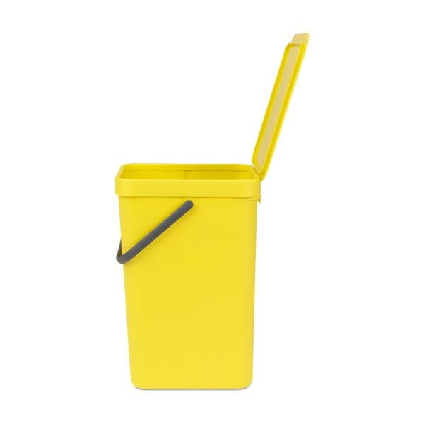 Koš Sort & Go 16 l, žlutý