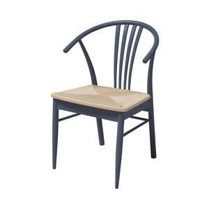 Šedá jídelní židle z březového dřeva Interstil York