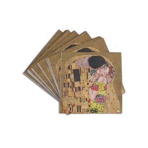 Gustav Klimt - ubrousky Kiss, 40 ks
