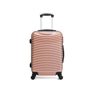 Cestovní kufr v barvě růžového zlata na kolečkách Hero Etna, 96 l