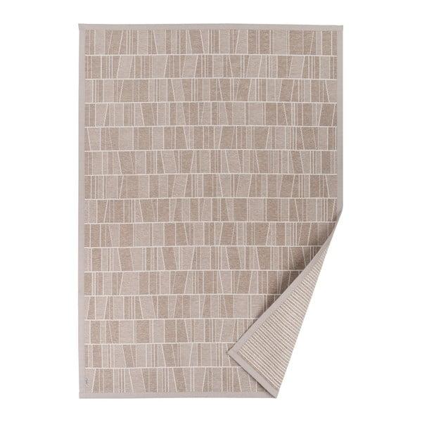 Kursi bézs, mintás kétoldalú szőnyeg, 70 x 140 cm - Narma