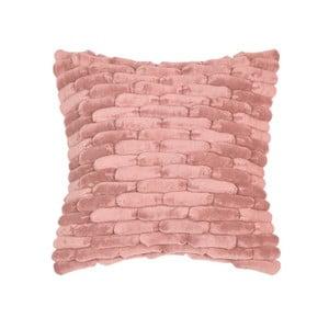 Růžový polštář ZicZac Cobble Stone, 45x45cm
