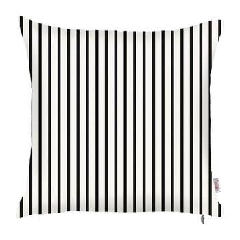 Faţă de pernă Apolena Pinky Light Stripes, 43 x 43 cm, alb – negru de la Apolena