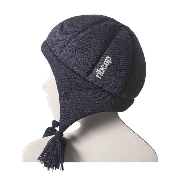 Dětská modrá čepice s ochrannými prvky Ribcap Chessy, vel. M