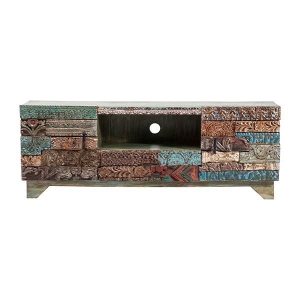 TV komoda z mangového dřeva Kare Design Shanti