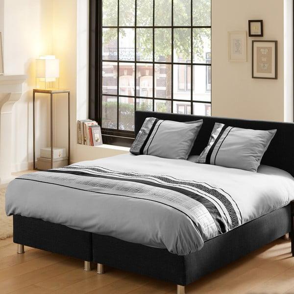 Povlečení Descanso Grey Stripes, 240x200 cm