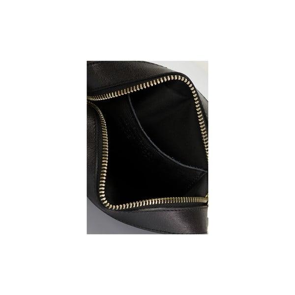 Kožená kabelka Giorgio Costa 2353 Black
