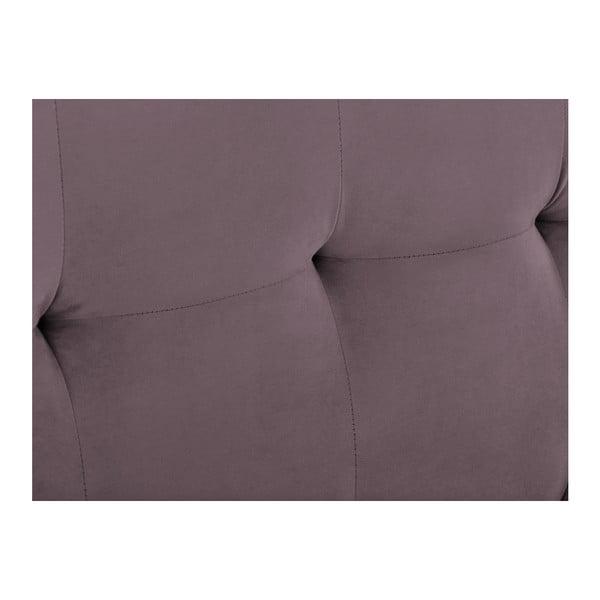 Tăblie pat Kooko Home Basso, 120 x 180 cm, mov