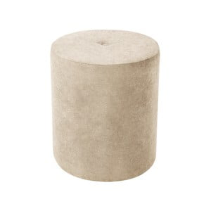 Béžová taburetka Kooko Home Motion, ø40cm