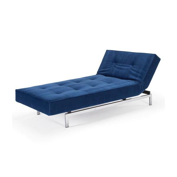 Lenoška Splitback Lounger, modrá