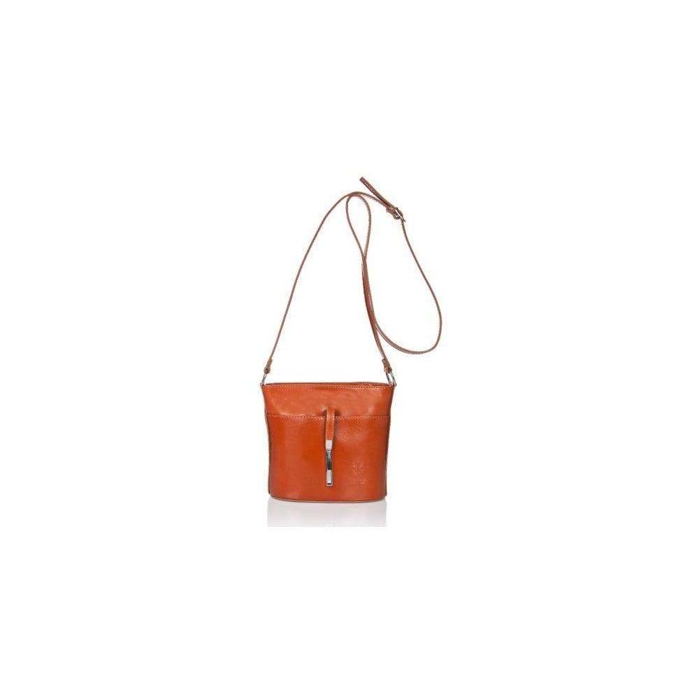 Světle hnědá kožená kabelka Markese Calf Mini b6a3bc7122d