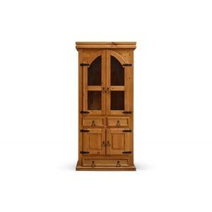 Dřevěná chalupářská vitrína SOB Hacienda
