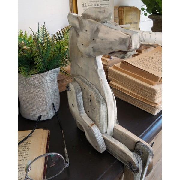Dřevěná dekorace Orchidea Milano Pupper Horse