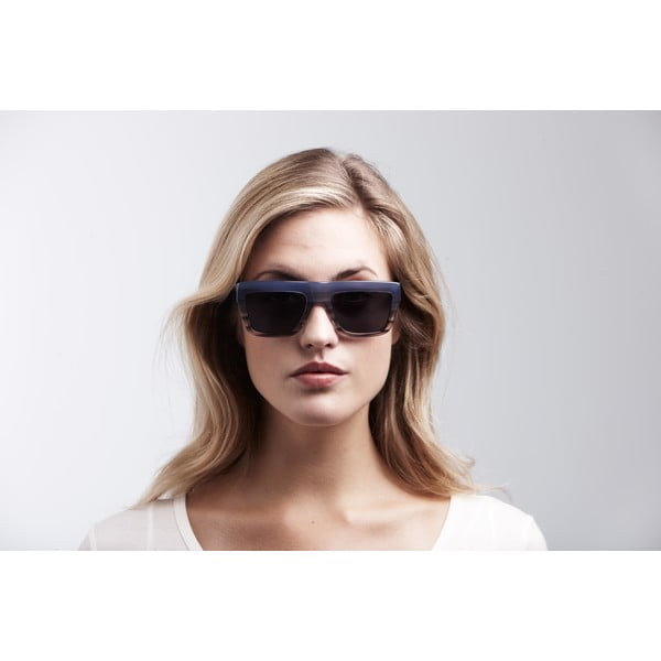 Unisex sluneční brýle s modrými obroučkami  Triwa Sky Fade Alex
