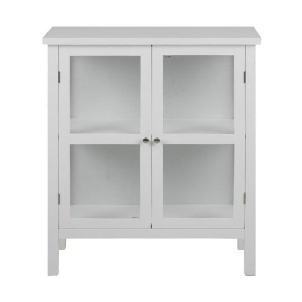 Vitrină Actona Eton, înălțime 99,5 cm, alb