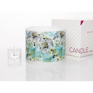 Kruhový svícen na čajovou svíčku Floral