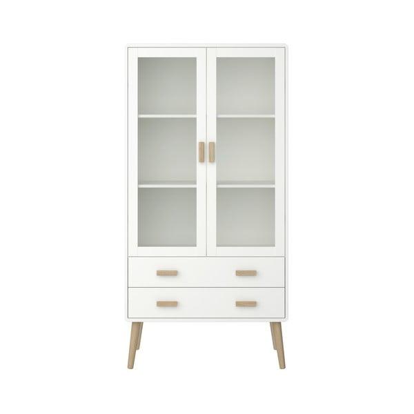Vitrină Steens Pavona, înălțime 170,4 cm, alb