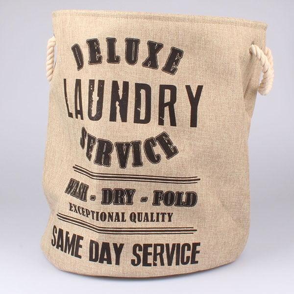 Koš na prádlo Laundry Service, béžový