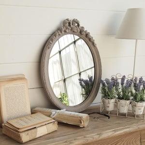 Zrcadlo Grey Antique Oval