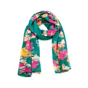 Šátek Flowers Green