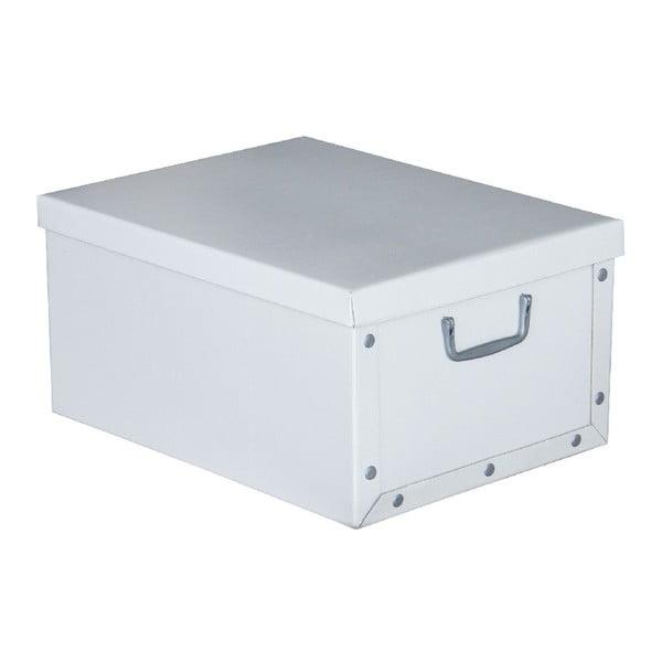 Úložná krabice Uni White, 47x37 cm