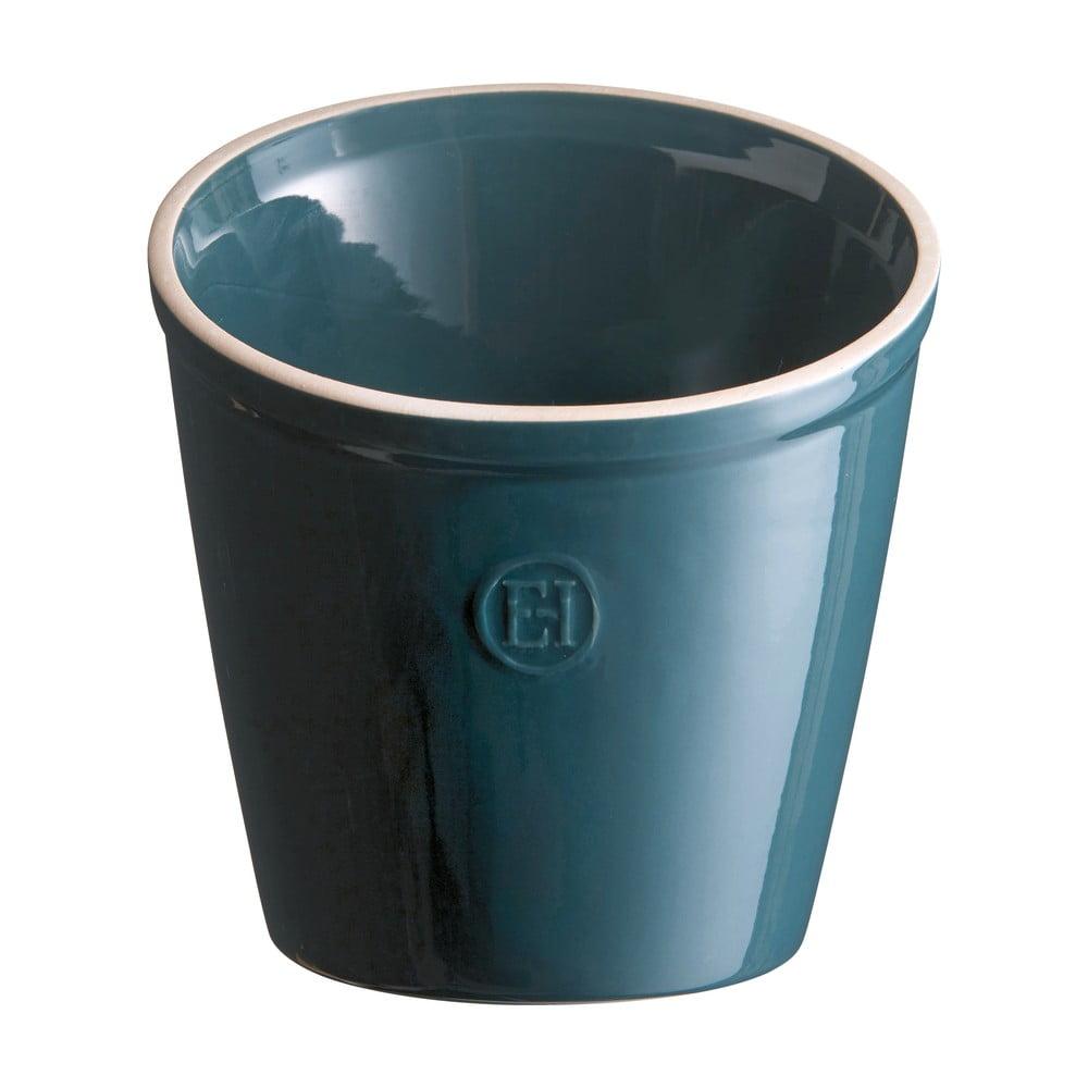 Makově modrá nádoba na kuchyňské náčiní Emile Henry