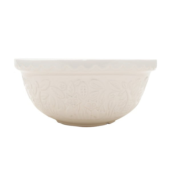 Bol din ceramică In The Forest Cream,  ⌀ 29 cm