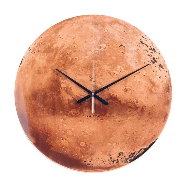 Medené hodiny Karlsson Mars