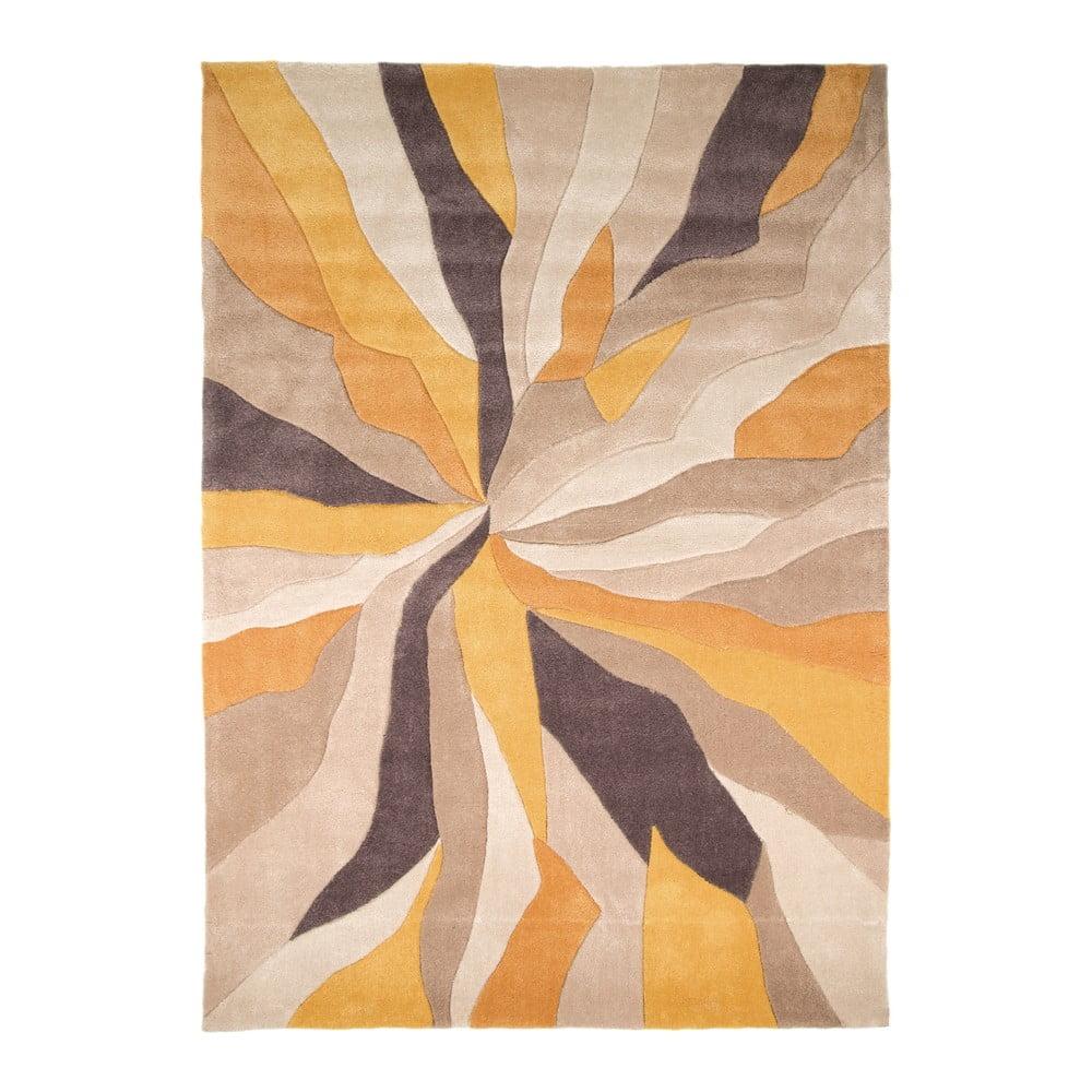 Žlutý koberec Flair Rugs Splinter, 80x150 cm