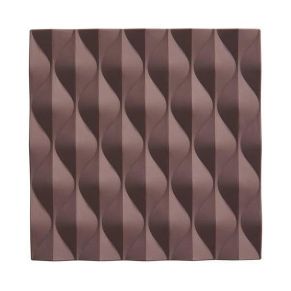 Origami Wave lila szilikon edényalátét - Zone