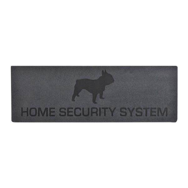 Home szürke-fekete lábtörlő - Esschert Design