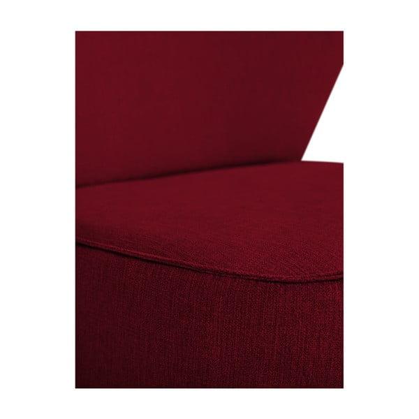 Červené křeslo BSL Concept Pearson