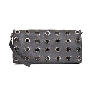 Černá kožená kabelka Sofia Cardoni Brisa