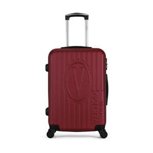 Vínový cestovní kufr na kolečkách VERTIGO Valise Grand Cadenas Integre Malo, 47 x 72 cm