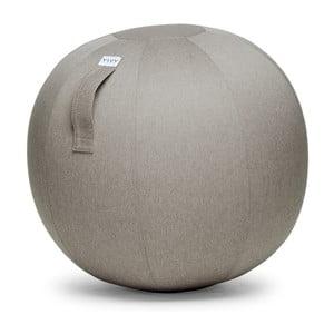 Béžovošedý sedací míč VLUV Leiv, Ø70- 75cm