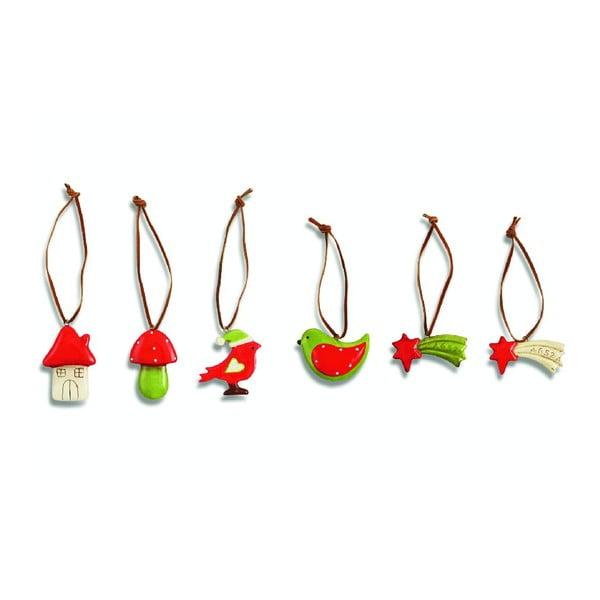 Set 24 vánočních dekorací Xmas