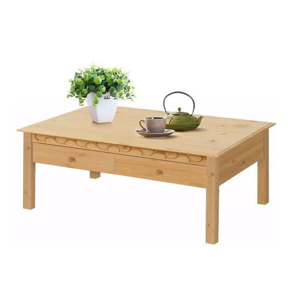 Konferenční stolek z borovicového dřeva Støraa Lando Harry