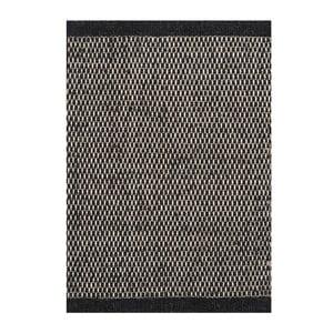 Vlněný koberec Linie Design Asko Black, 170x240cm