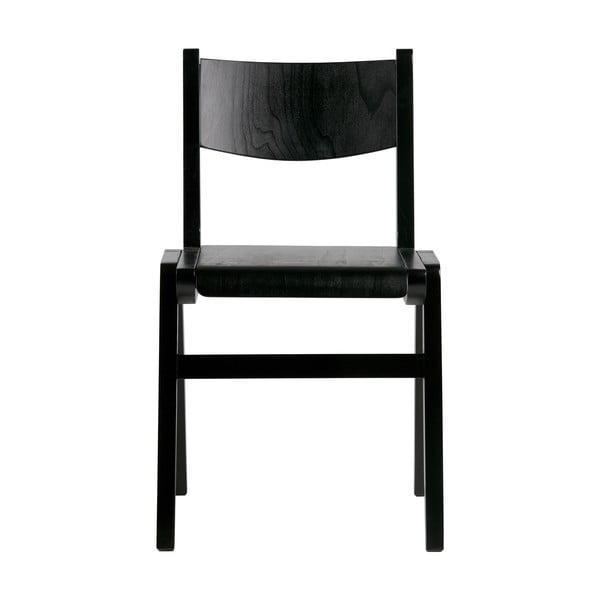 Čierna jedálenská stolička BePureHome Academy