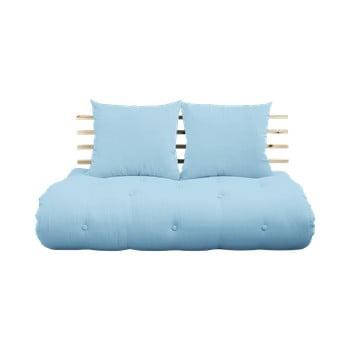 Canapea extensibilă Karup Shin Sano Natur/Light Blue