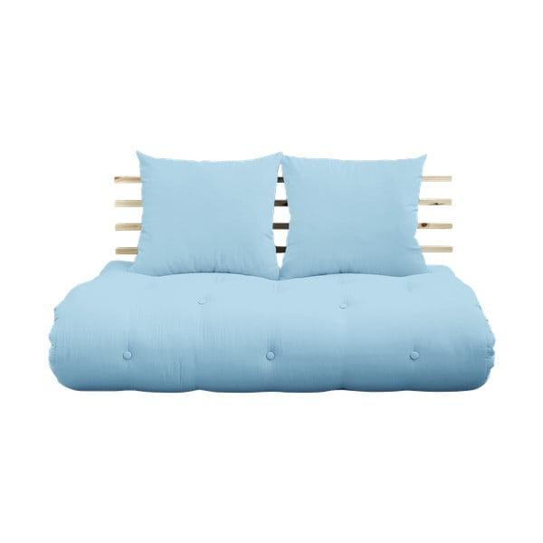 Rozkládací pohovka Karup Design Shin Sano Natur/Light Blue