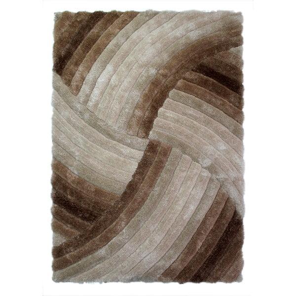 Covor Flair Rugs Furrow Natural, 120 x 170 cm, gri-maro