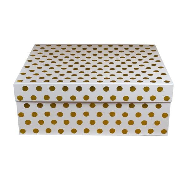 Úložná krabice Tri-Coastal Design Design Lovely Dots